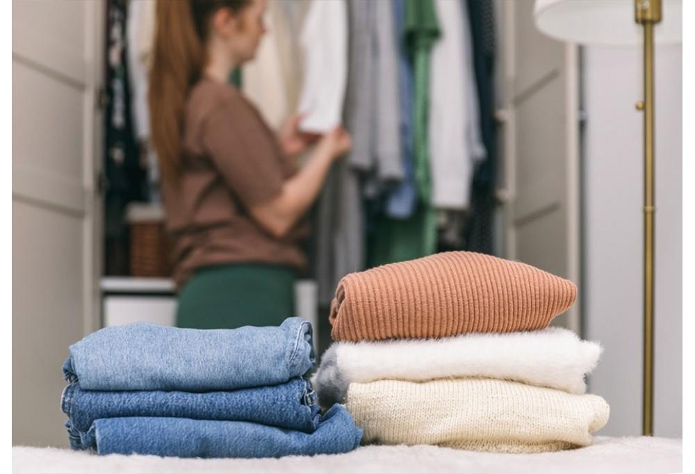 Pulire e igienizzare l'armadio con l'ozono