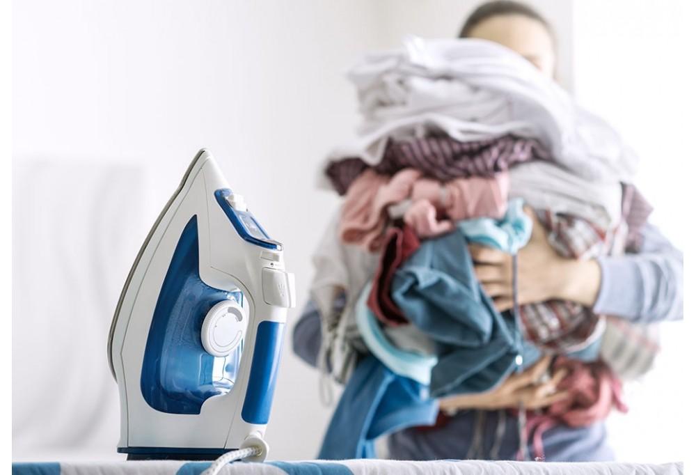 Il nuovo modo di asciugare e stirare il bucato...